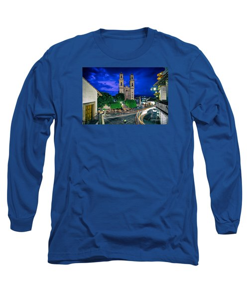 Colonial Town Of Taxco, Mexico Long Sleeve T-Shirt