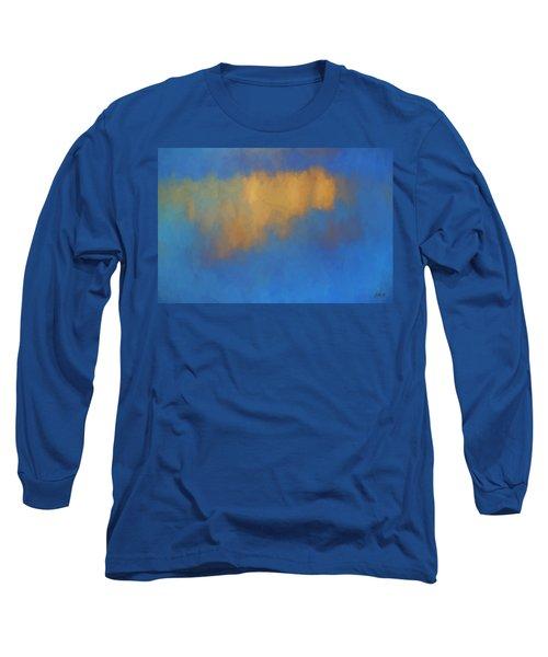 Color Abstraction Lvi Long Sleeve T-Shirt by David Gordon