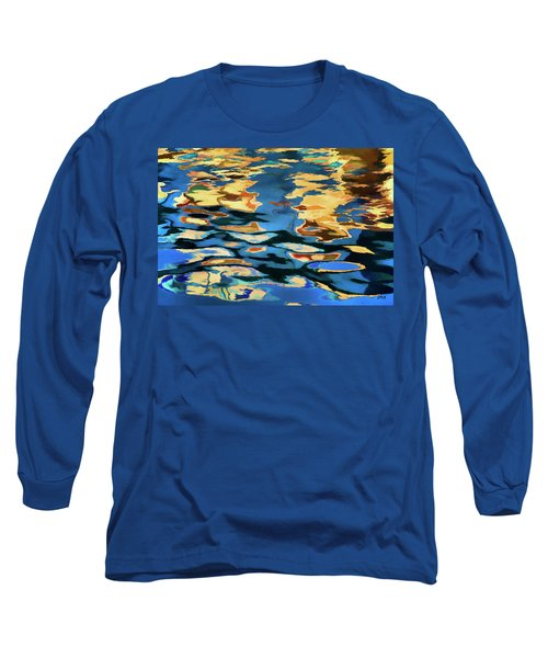 Color Abstraction Lxix Long Sleeve T-Shirt by David Gordon