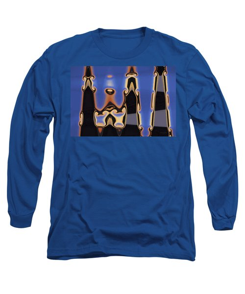 Color Abstraction Xliii Long Sleeve T-Shirt by David Gordon