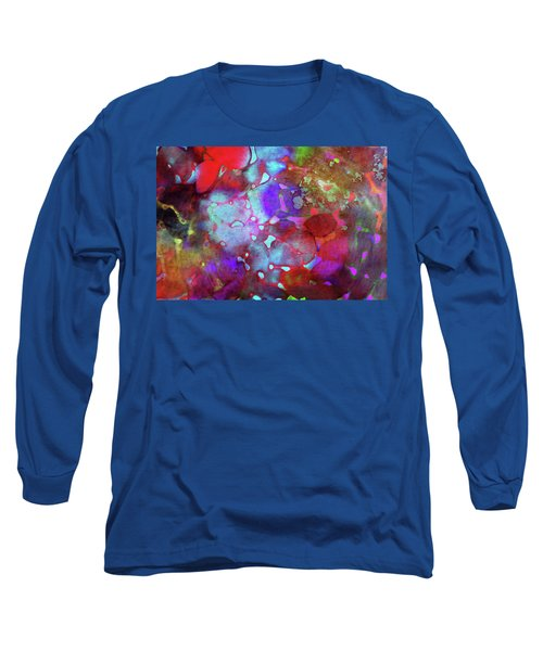 Color Burst Long Sleeve T-Shirt by AugenWerk Susann Serfezi
