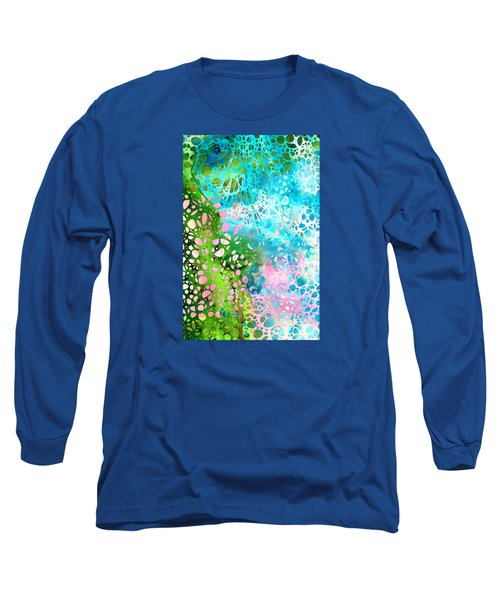 Colorful Art - Enchanting Spring - Sharon Cummings Long Sleeve T-Shirt