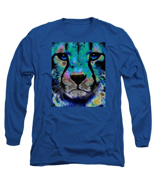 Colorful Cheetah Long Sleeve T-Shirt