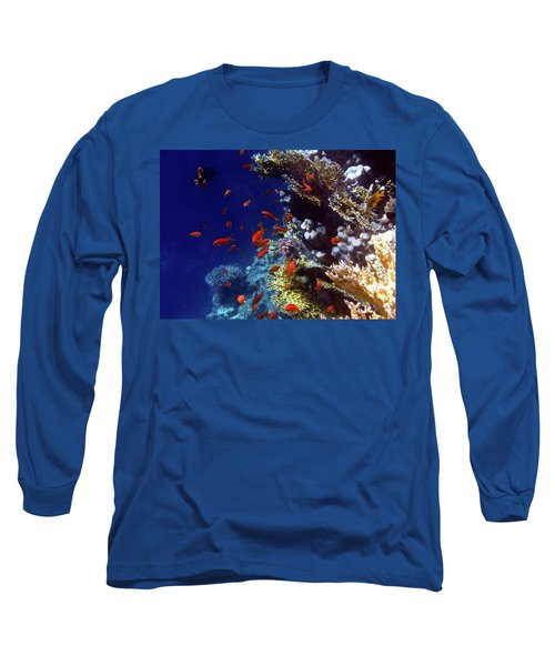 Colorful Lyretail Anthias Long Sleeve T-Shirt