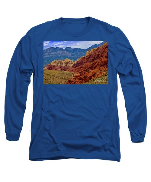 Colorful Red Rock Long Sleeve T-Shirt