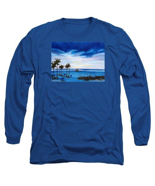 Colors On The Gulf Long Sleeve T-Shirt by Lloyd Dobson