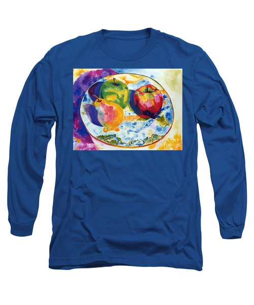 Colourful Trio Long Sleeve T-Shirt by Lisa Boyd