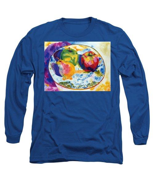 Colourful Trio Long Sleeve T-Shirt