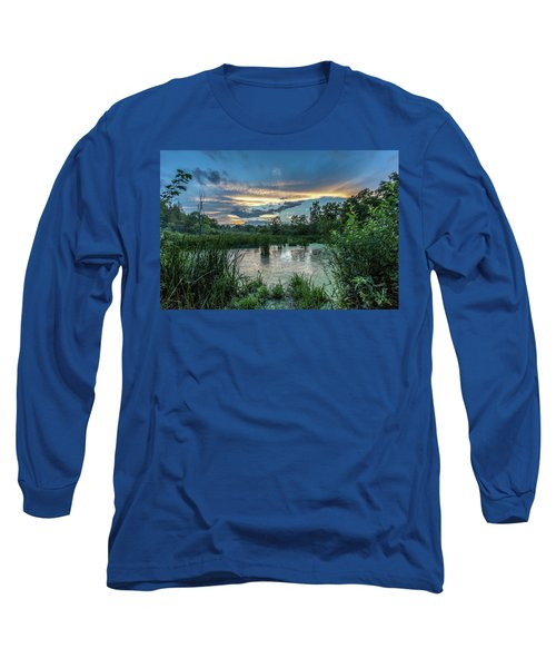 Columbia Marsh Sunset Long Sleeve T-Shirt