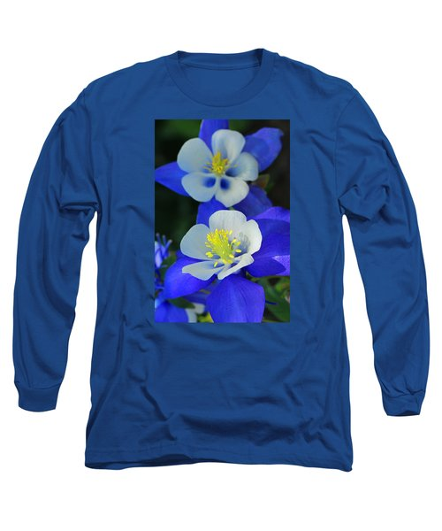 Columbine Day Long Sleeve T-Shirt by Iryna Goodall