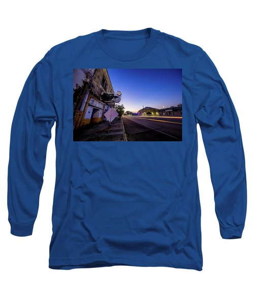 Commerce East Long Sleeve T-Shirt by Micah Goff
