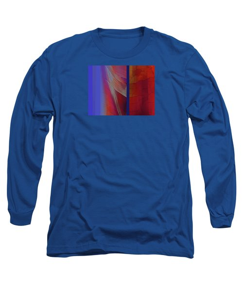 Composition 0310 Long Sleeve T-Shirt by Walter Fahmy