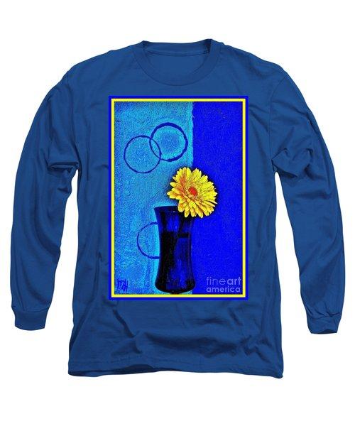 Long Sleeve T-Shirt featuring the photograph Contemporary Gerber by Marsha Heiken