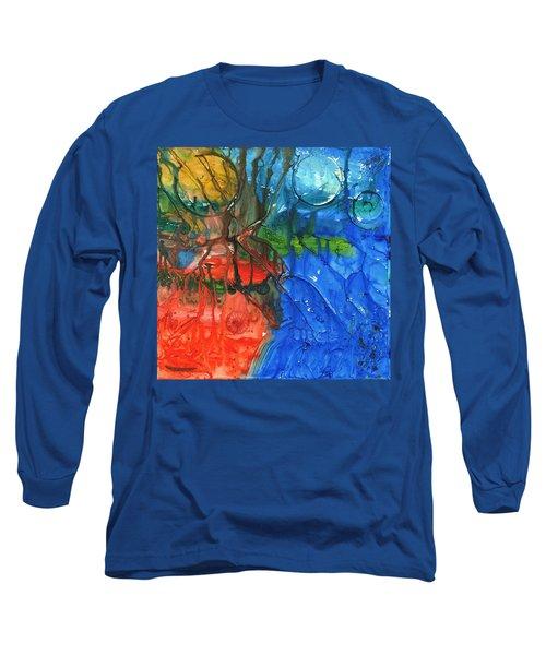 Continental Divide Long Sleeve T-Shirt by Phil Strang