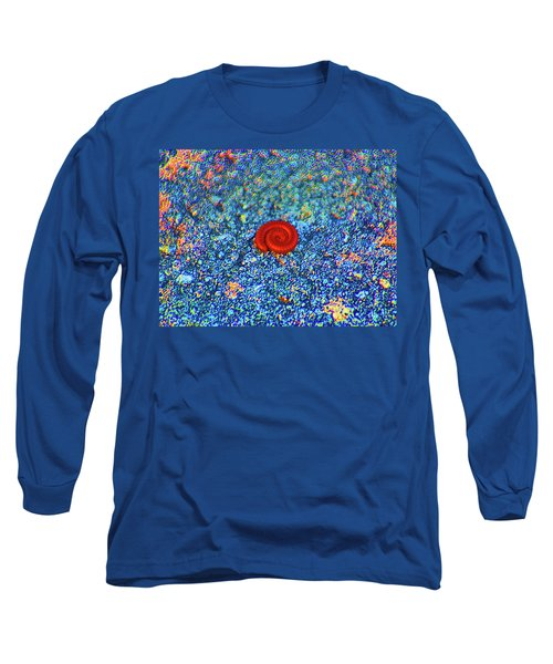 Long Sleeve T-Shirt featuring the digital art Contractions by Joseph Keane