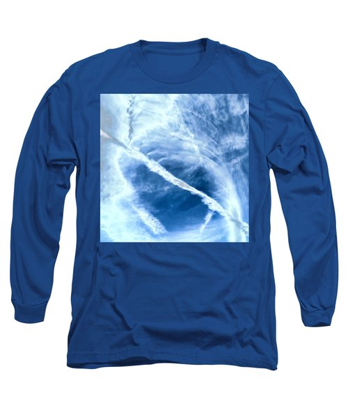 Contrail Concentricities Long Sleeve T-Shirt