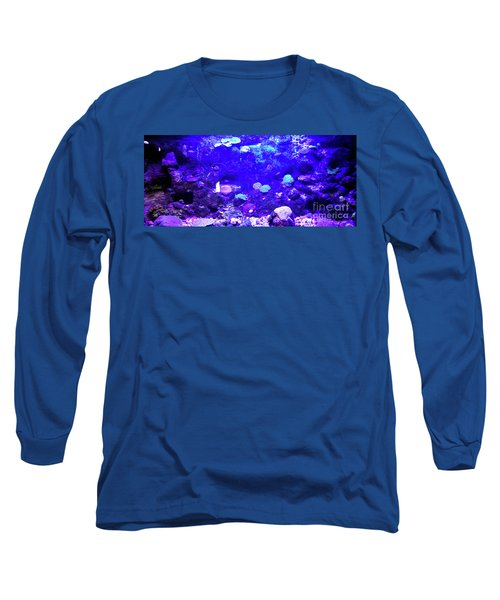 Long Sleeve T-Shirt featuring the digital art Coral Art 2 by Francesca Mackenney