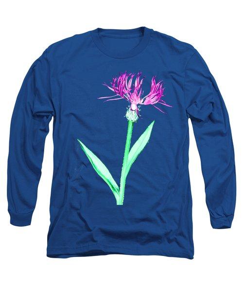 Cornflower3 T-shirt Long Sleeve T-Shirt