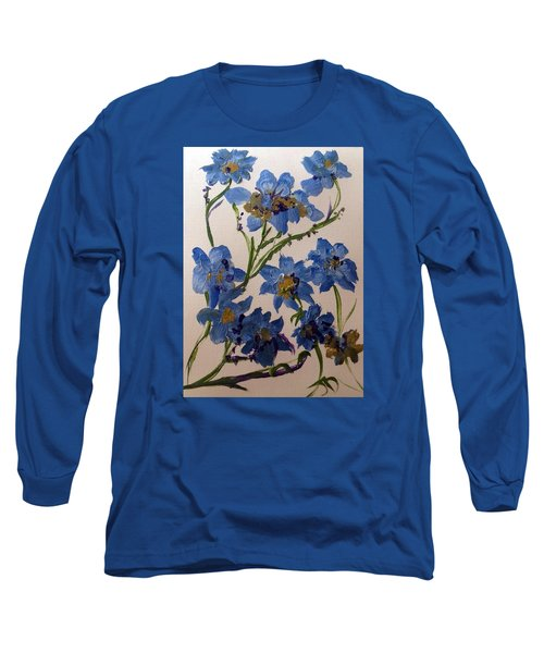 Cornflowers Cousins Long Sleeve T-Shirt