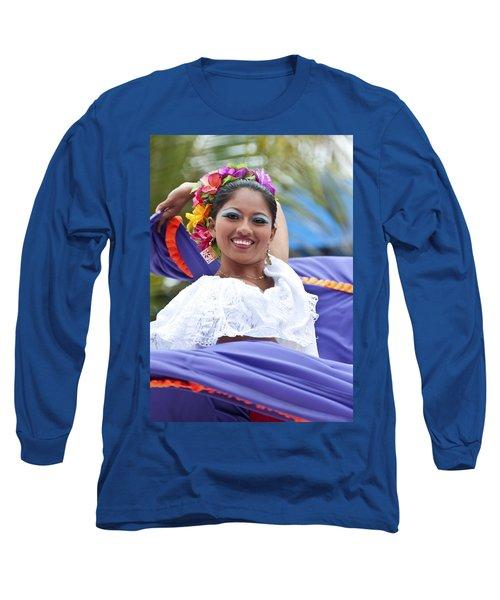 Costa Maya Dancer Long Sleeve T-Shirt