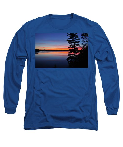Cottage Sunset Long Sleeve T-Shirt by Keith Armstrong