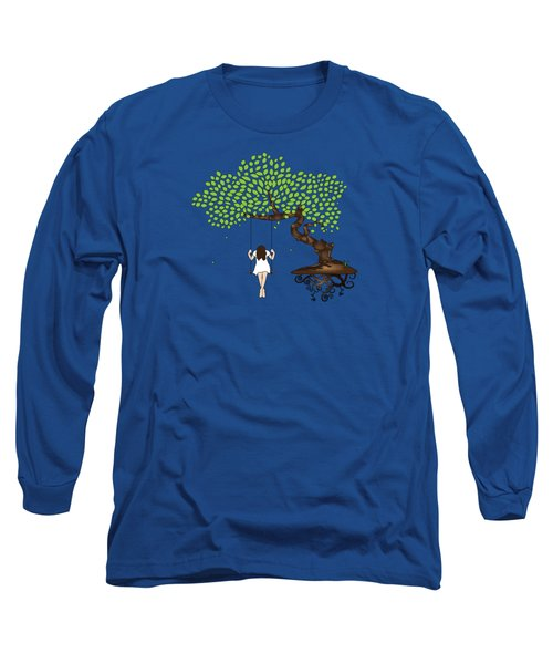 Dreamscape Long Sleeve T-Shirt by Serena King