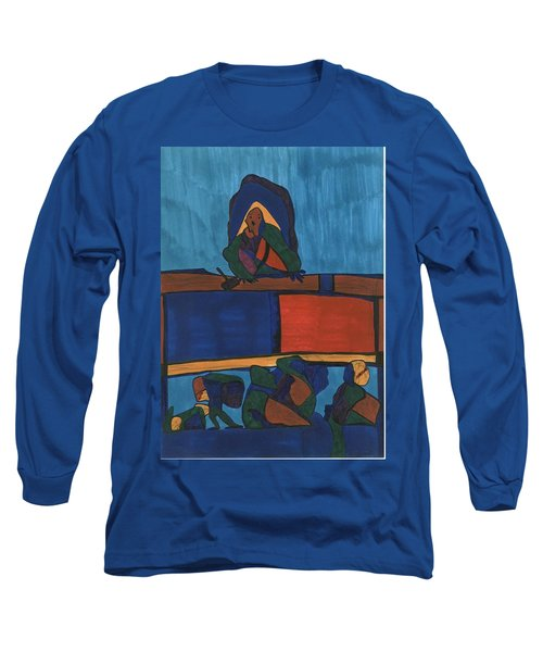 Courtroom  Long Sleeve T-Shirt by Darrell Black