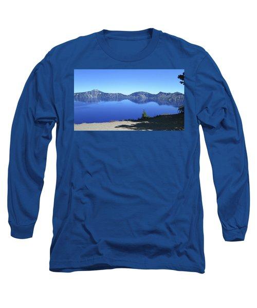 Crater Lake Long Sleeve T-Shirt by Tony Mathews