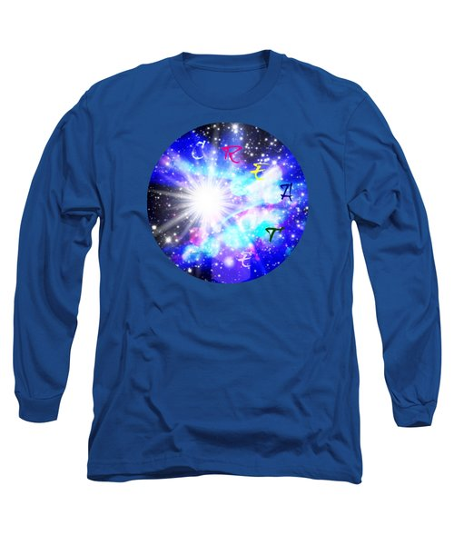 Create 1 Long Sleeve T-Shirt by Leanne Seymour