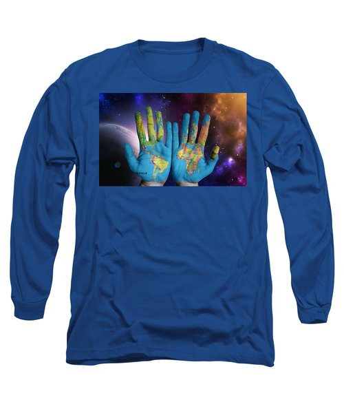 Created By God's Own Hands Long Sleeve T-Shirt