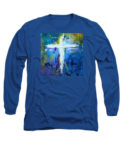 Cross - Painting #4 Long Sleeve T-Shirt