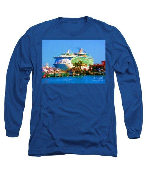 Crucero Cabo Long Sleeve T-Shirt by Gerhardt Isringhaus