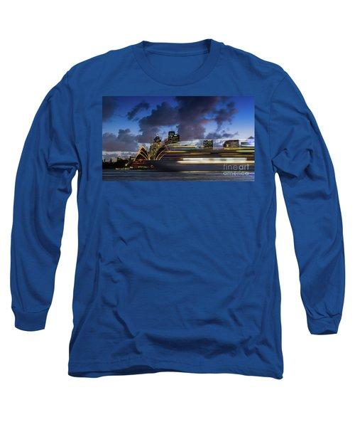 Cruise Ship Sydney Harbour Long Sleeve T-Shirt