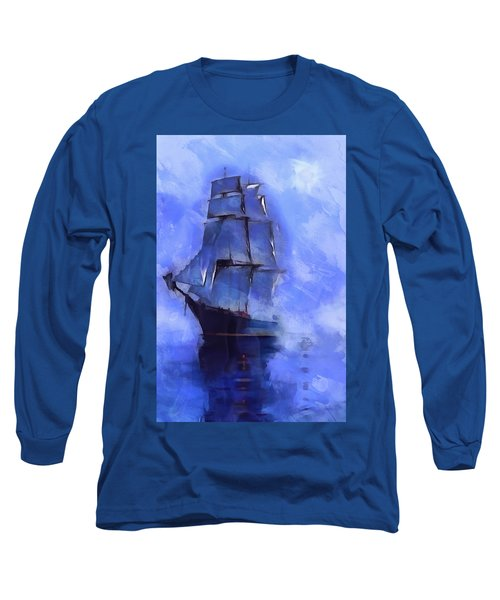 Cruising The Open Seas Long Sleeve T-Shirt