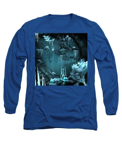 Crystal Cave Mystery Long Sleeve T-Shirt