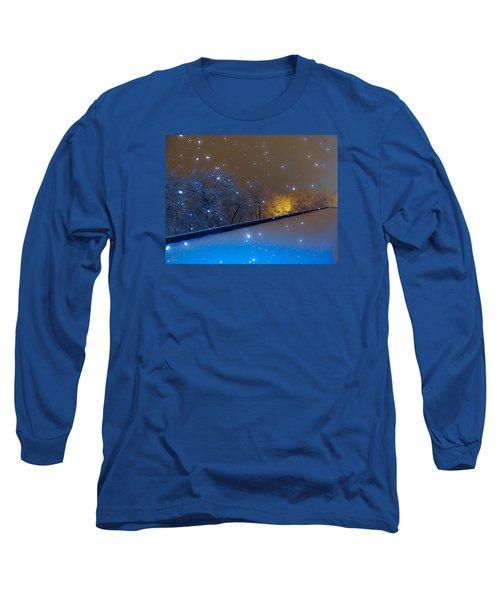 Crystal Falls Long Sleeve T-Shirt by Glenn Feron