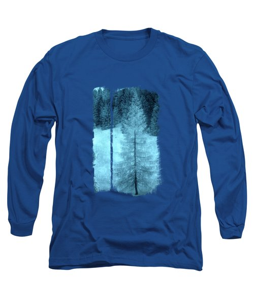 Crystal Larch Long Sleeve T-Shirt by AugenWerk Susann Serfezi