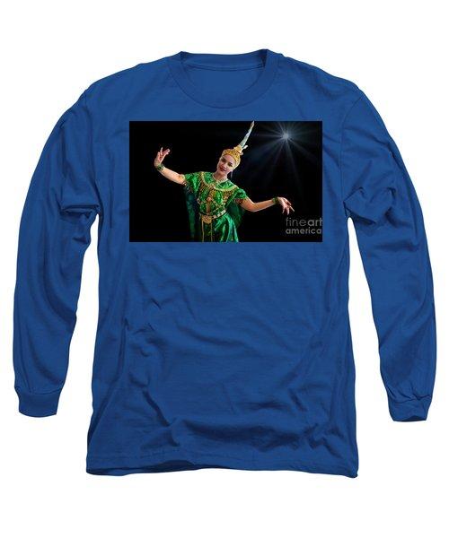 Cultural Thai Dance Long Sleeve T-Shirt