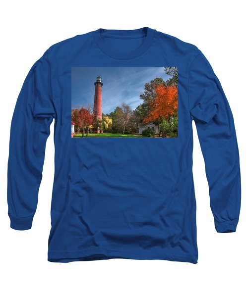 Currituck Lighthouse  Long Sleeve T-Shirt
