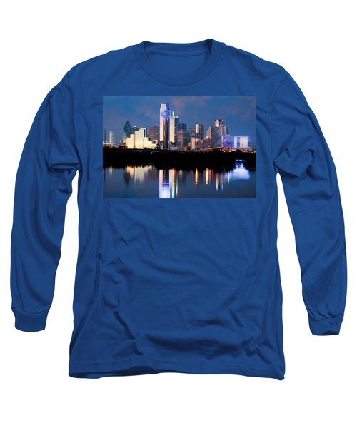 Dallas Skyline May 2015 Long Sleeve T-Shirt