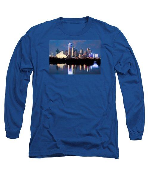 Dallas Skyline May 2015 Long Sleeve T-Shirt