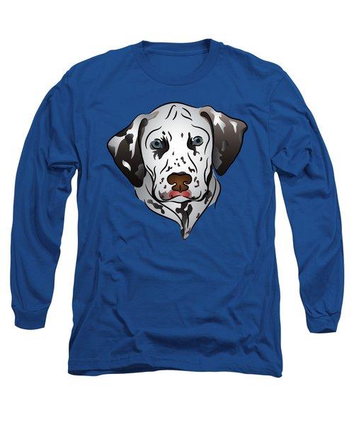 Dalmatian Portrait Long Sleeve T-Shirt