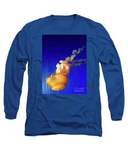 Dance Of The Jelly Long Sleeve T-Shirt by Beth Saffer