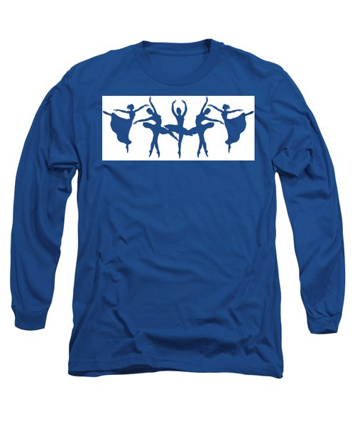 Dancing Silhouettes  Long Sleeve T-Shirt