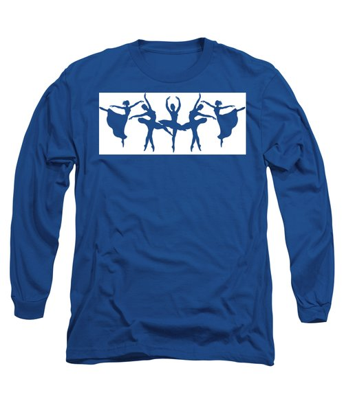 Dancing Silhouettes  Long Sleeve T-Shirt