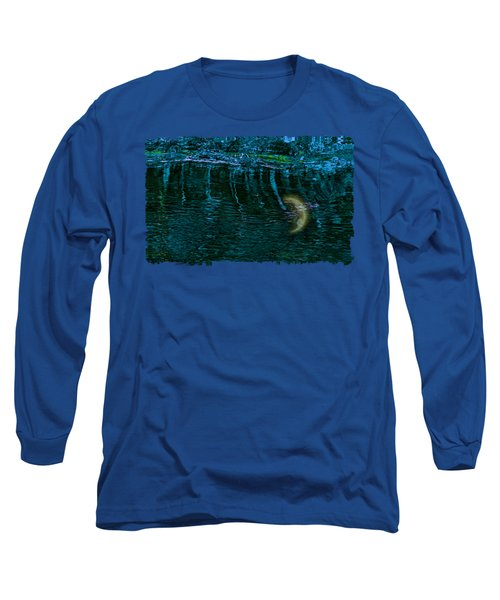 Dark Waters 2 Long Sleeve T-Shirt by John M Bailey