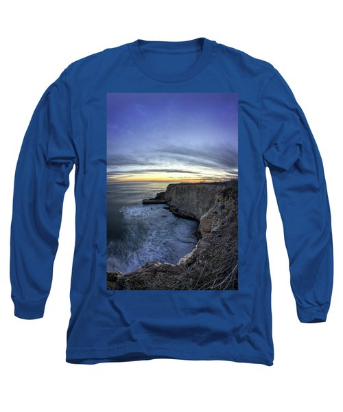 Davenport Bluffs At Sunset Long Sleeve T-Shirt
