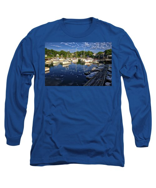 Dawn At Perkins Cove - Maine Long Sleeve T-Shirt