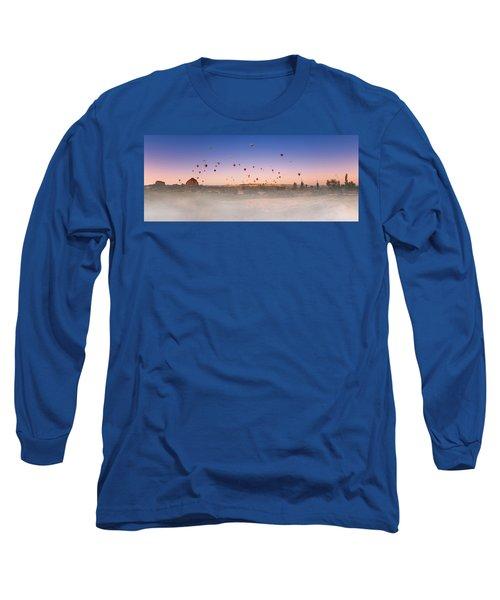 Dawn, Cappadocia Long Sleeve T-Shirt