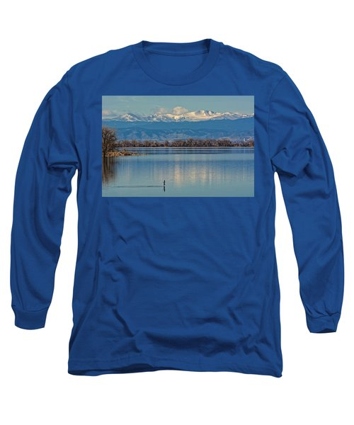 Day On The Lake Long Sleeve T-Shirt